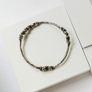 Mihlu Bangle - Silver