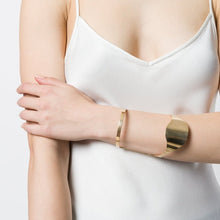 Load image into Gallery viewer, Gold Carpel Cuff - Gold plate