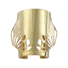 Load image into Gallery viewer, Gold Kaari Cuff - Gold plate