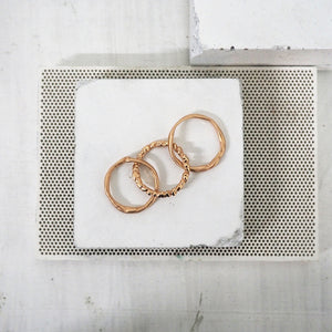 Three Piece Zinkir Ring