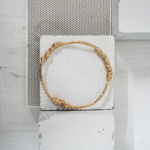 Mihlu Bangle -Gold Vermeil