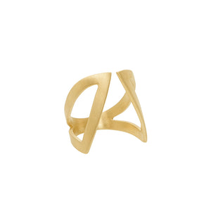 Cut-Out Claavi Ring - 14k Gold