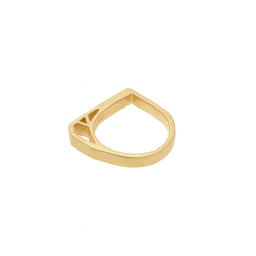 Gold Kirea Ring - 14k Gold