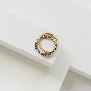 Zinkir Ring - 14k Gold / Silver
