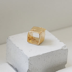 Gold Pared Ring