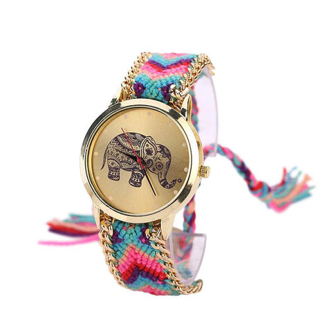 SoulSisters All Products Armbanduhr Olifant Boho Fashion
