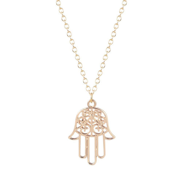 SoulSisters All Products Hamsa Hand Halskette