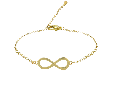 SoulSisters All Products Infinity Armband 18k vergoldet