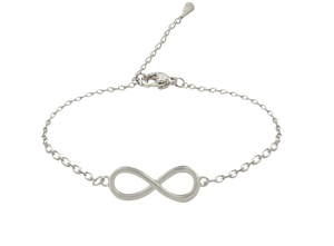 SoulSisters All Products Infinity Armband 925 versilbert