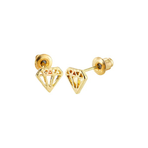 SoulSisters All Products SoulSisters Ohrstecker Diamant 18 karat vergoldet