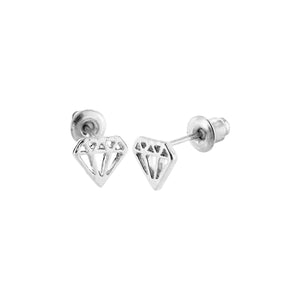 SoulSisters All Products SoulSisters Ohrstecker Diamant 925 versilbert
