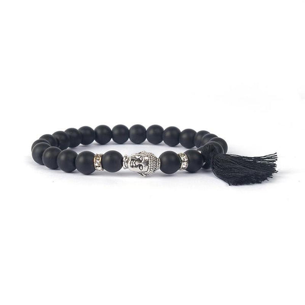 vendor-unknown All Products Handmade Armband Ibiza Buddha Quarz Perlen