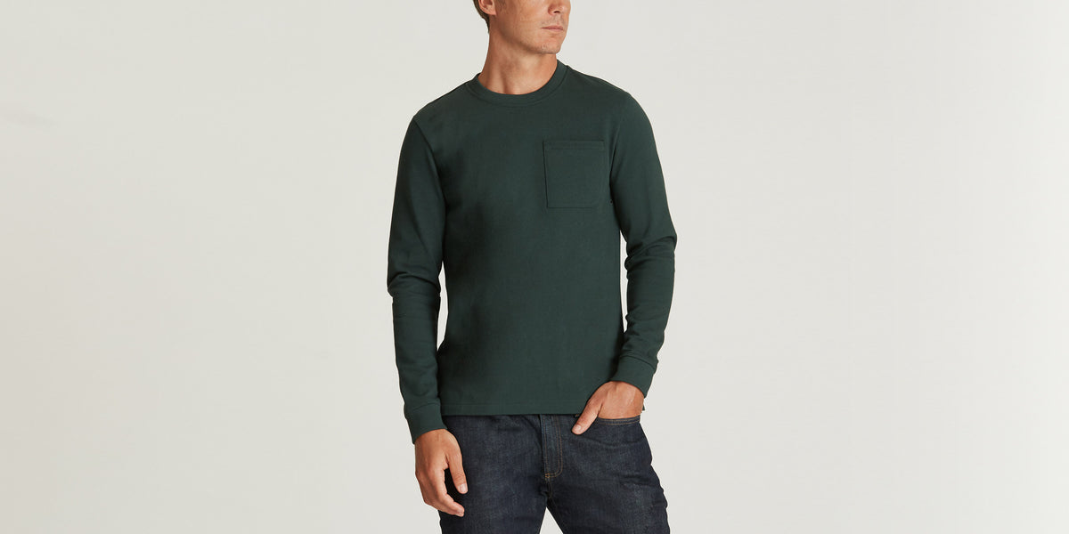 Aether Apparel Jersey Long-Sleeve Crew