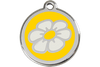 Red Dingo Enamel Pet ID Tag Daisy (1DA), Small