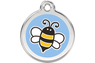 Red Dingo Enamel Pet ID Tag Bumble Bee (1EL), Small