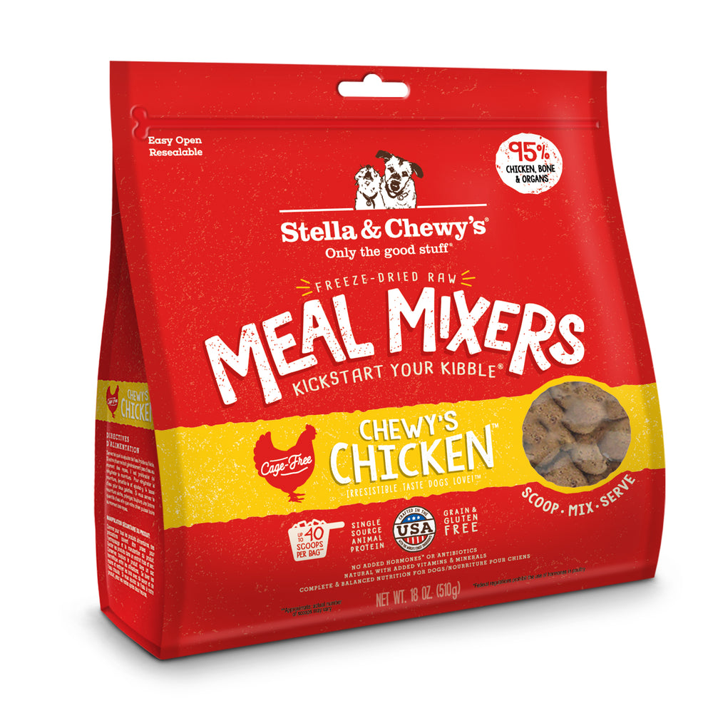Stella & Chewy's Dog Freeze Dried Food Mixer Chicken