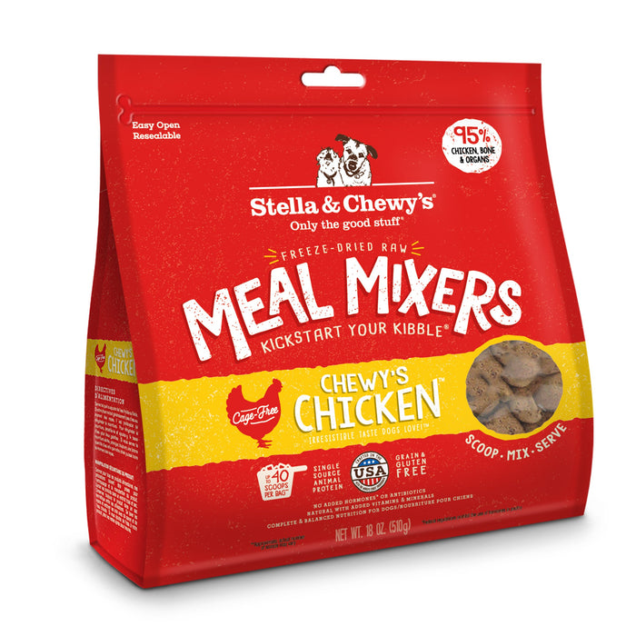 Stella & Chewy's Dog Freeze Dried Food Mixer Chicken, 35oz
