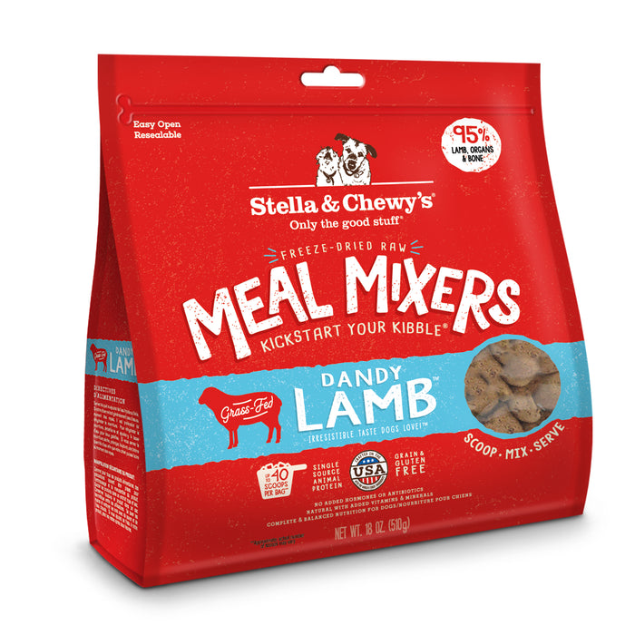 Stella & Chewy's Dog Freeze Dried Food Mixer Dandy Lamb