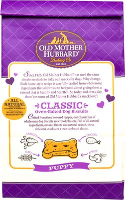 Old Mother Hubbard Classic Crunchy Dog Treats, Puppy, 20oz