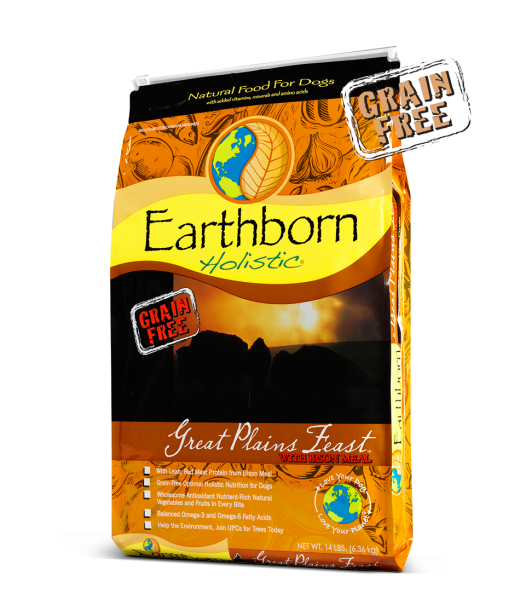 Earthborn Dog Grain Free Dry Food Great Plains