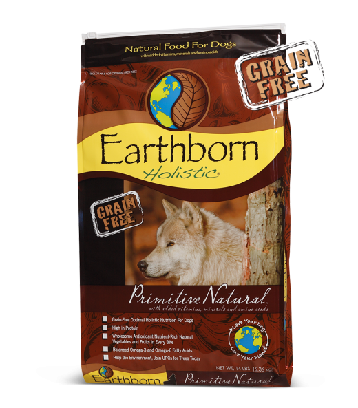 Earthborn Dog Grain Free Dry Food Primitive Natural