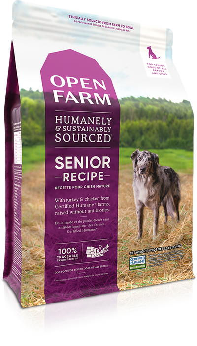 Open Farm Grain Free Dog Dry Food Senior
