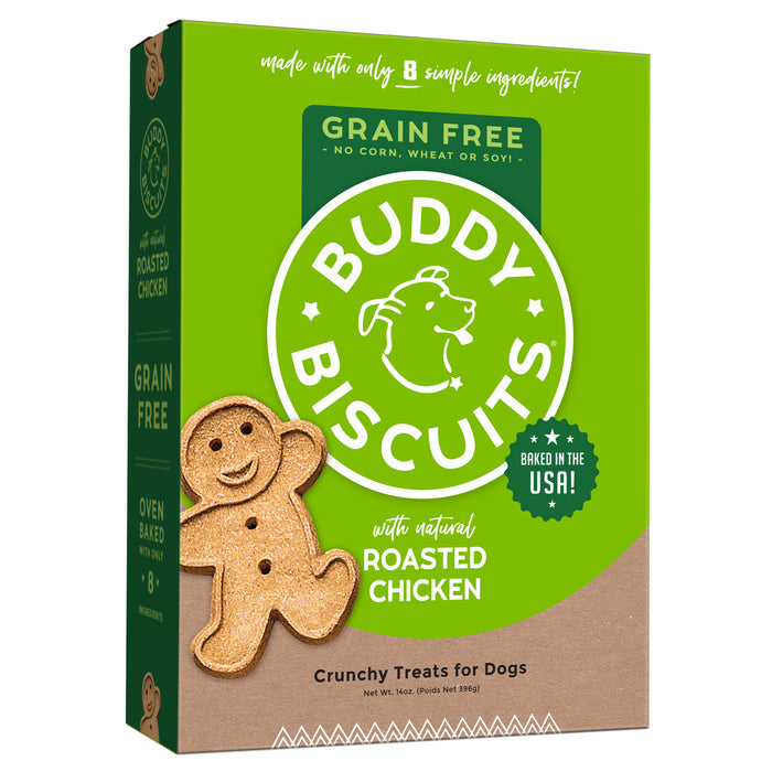Buddy Biscuit Oven Baked Dog Grain Free Treats Chicken