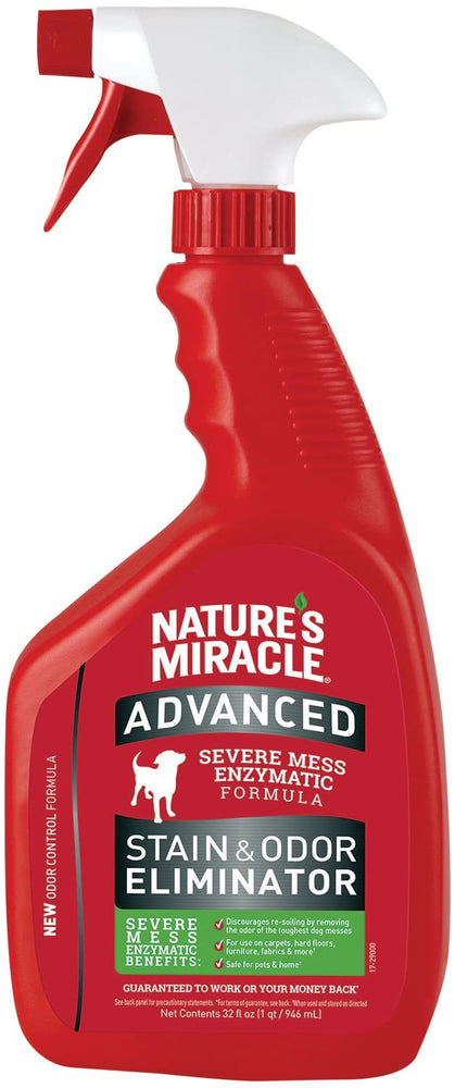 Nature's Miracle Dog Advanced Stain & Odor Remover, 32oz