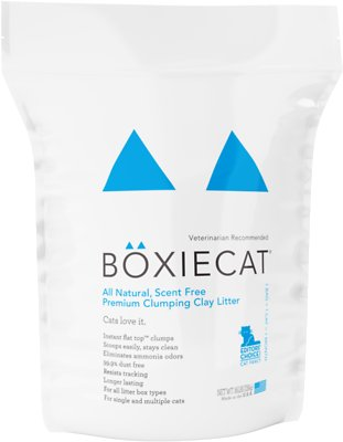 Boxiecat Scent Free Clumping Clay Cat Litter