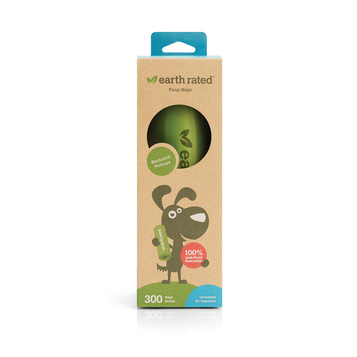 Earth Rated Unscented Bags 300ct Roll