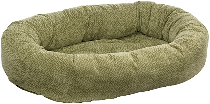 Bowsers Donut Bed, Microvelvet, Green Apple Bones (Currently in Stock in Store)