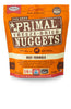Primal Dog Freeze Dried Food Nuggets Beef