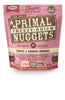 Primal Dog Freeze Dried Food Nuggets Turkey & Sardine