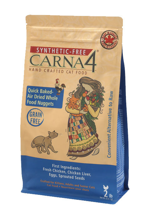 Carna4 Synthetic-Free Grain Free Cat Dry Food Chicken