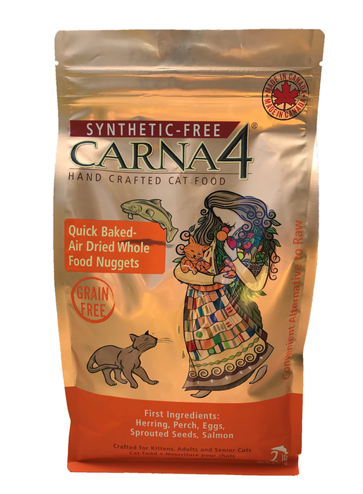 Carna4 Synthetic-Free Grain Free Cat Dry Food Fish