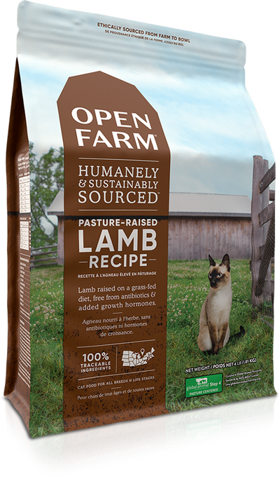 Open Farm Cat Grain Free Cat Dry Food Lamb