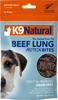 K9 Natural Air-Dried Bites Treats Beef Lung
