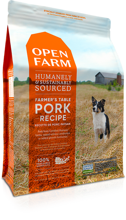 Open Farm Grain Free Dog Dry Food Pork
