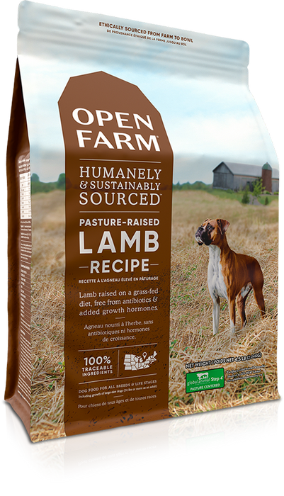 Open Farm Grain Free Dog Dry Food Lamb