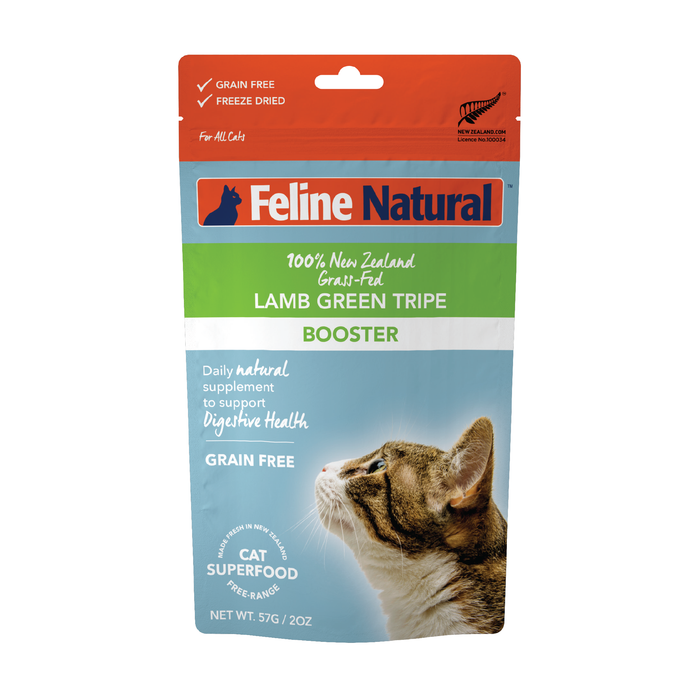 Feline Natural Cat Freeze Dried Food Booster Lamb Tripe