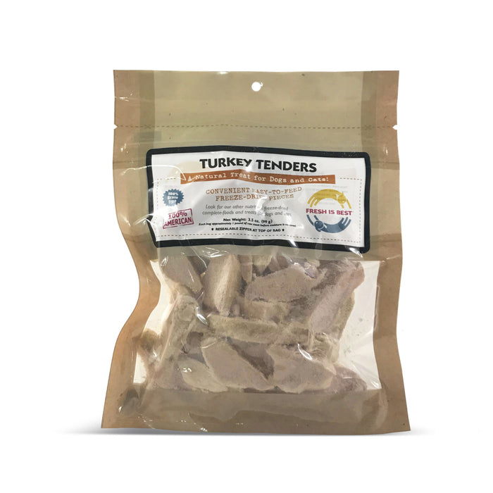 Fresh Is Best Treats Turkey Breast Tenders, 3.5oz