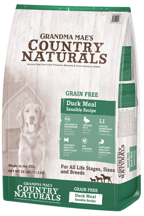 Grandma Mae's Limited Ingredient Dog Grain Free Dry Food Duck