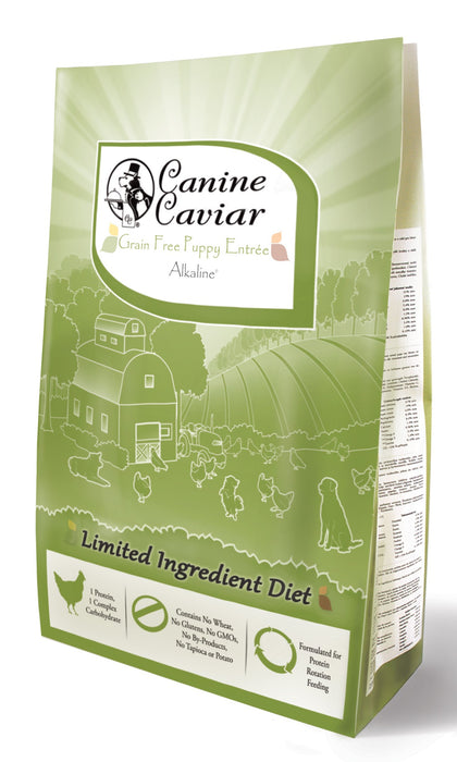 Canine Caviar Dog Grain Free Dry Food Puppy Chicken