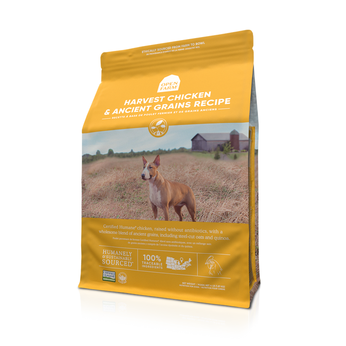Open Farm Ancient Grains Dog Dry Food Chicken