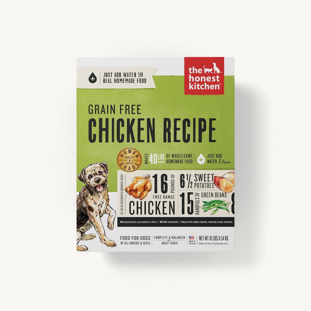 The Honest Kitchen Grain Free Dog Dehydrated Food Chicken (Force), 10lb