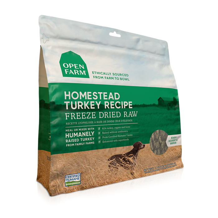 Open Farm Dog Freeze Dried Food Turkey