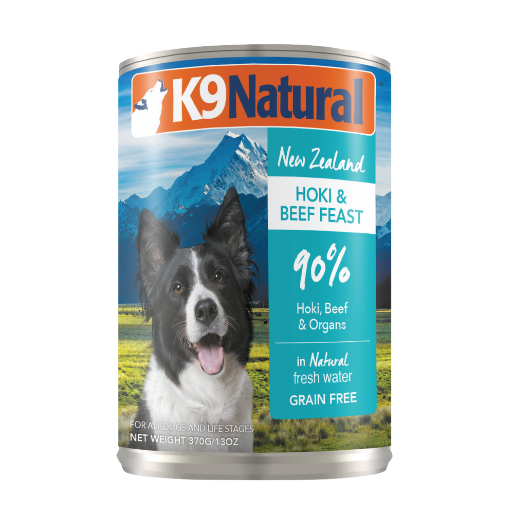 K9 Natural Grain Free Dog Can Food Hoki & Beef