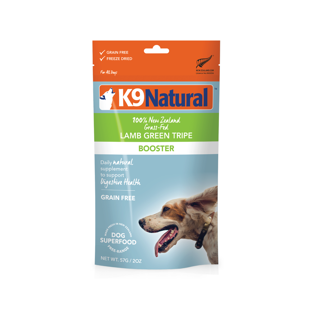 K9 Natural Dog Freeze Dried Food Booster Lamb Tripe Topper