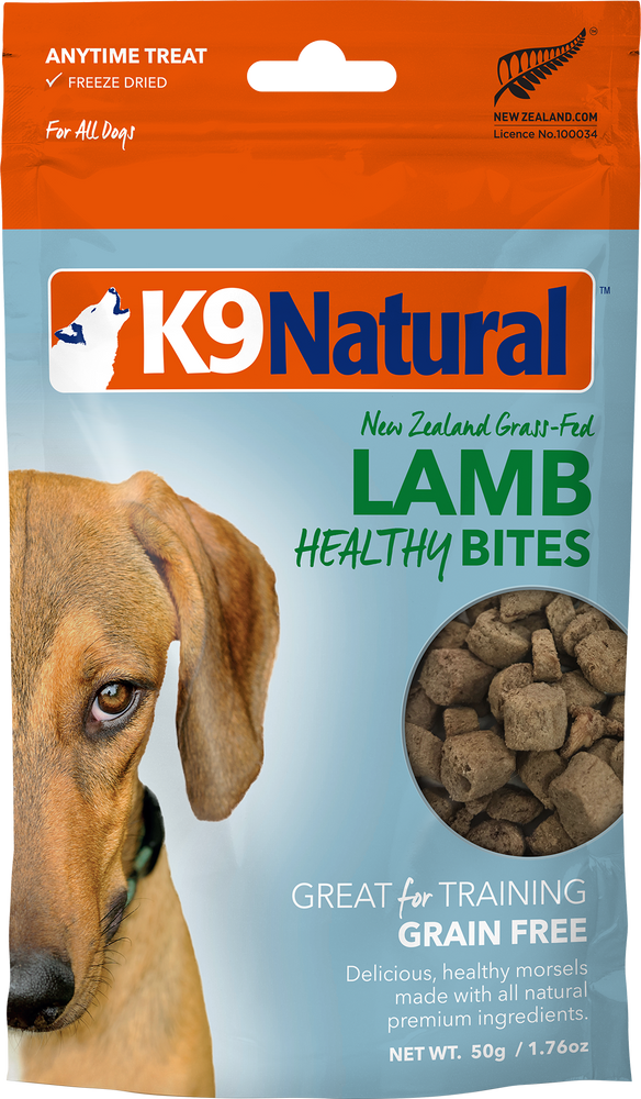 K9 Natural Dog Freeze Dried Healthy Bites Treats Lamb