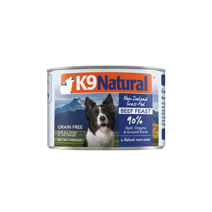 K9 Natural Grain Free Dog Can Food Beef